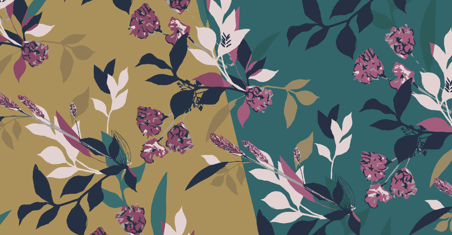Freelance Surface Pattern Designer-Floral-Abstract-Design-AW18