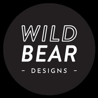 Wild Bear Designs Logo Black Round