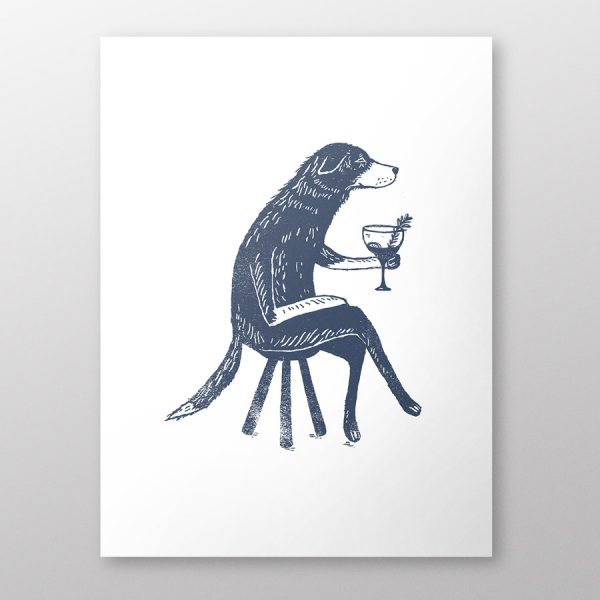 Dog-with-Gin-a4-giclee-print-thumbnail