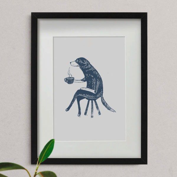 Dog-with-coffee-a4-giclee-print-shop-pic1