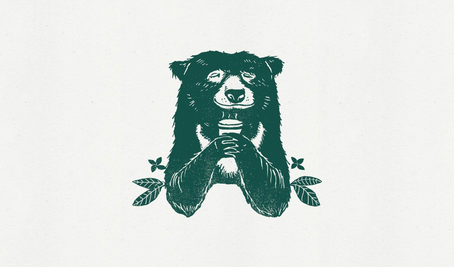 Ixora-Coffee-branding-Bear-illustration-Wild-Bear-Designs-pic1