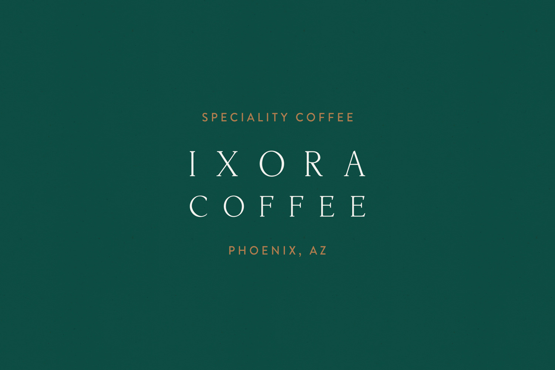 Ixora-Coffee-logo-branding-1